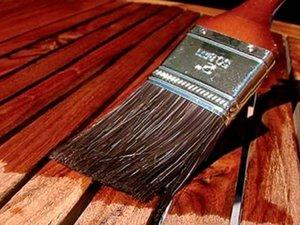 покрытие древесины морилкой
