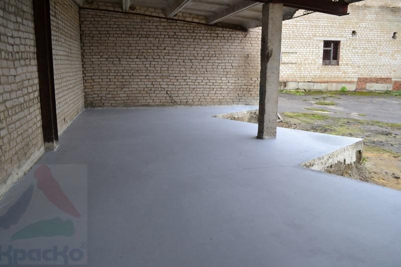 Краска для бетона в москве строительный раствор на яйце