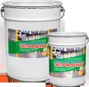 Тистром-Декор - прозрачный износостойкий лак для бетона, кирпича, камня и плитки