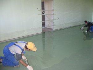 При какой температуре наливные полы хамелеоновые краски для стен